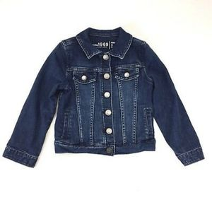 Gap 1969 Jean Jacket in Indigo Girls 6-7